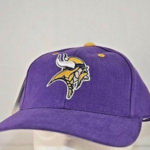 Minnesota Vikings Purple Baseball Cap Adjustable